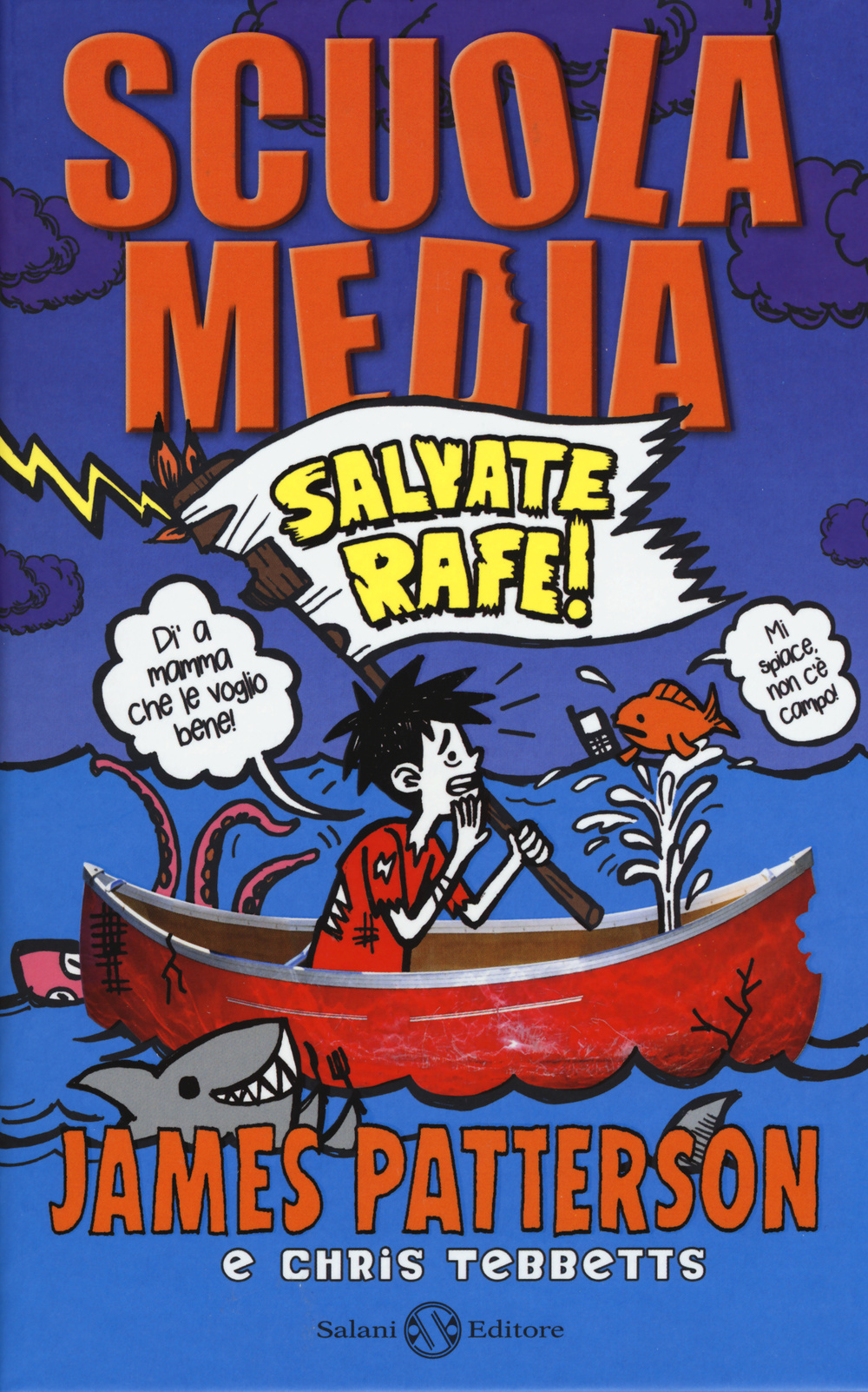libro scuola media salvate rafe di james patterson