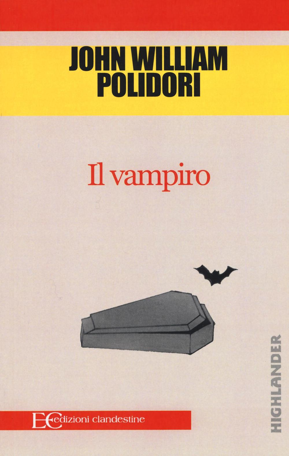 libro el vampiro de john william polidori